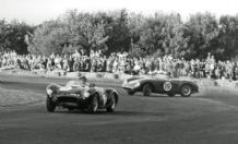 HWM Jaguar - 1955 Castle Combe 1.10.55 Redex Trophy Abecassis & Rosier